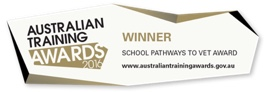 Winner - school pathways to VET award