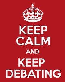 Keep Calm Keep Debating
