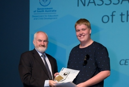 Jared Van Der Zee NASSSA VET Student of the Year