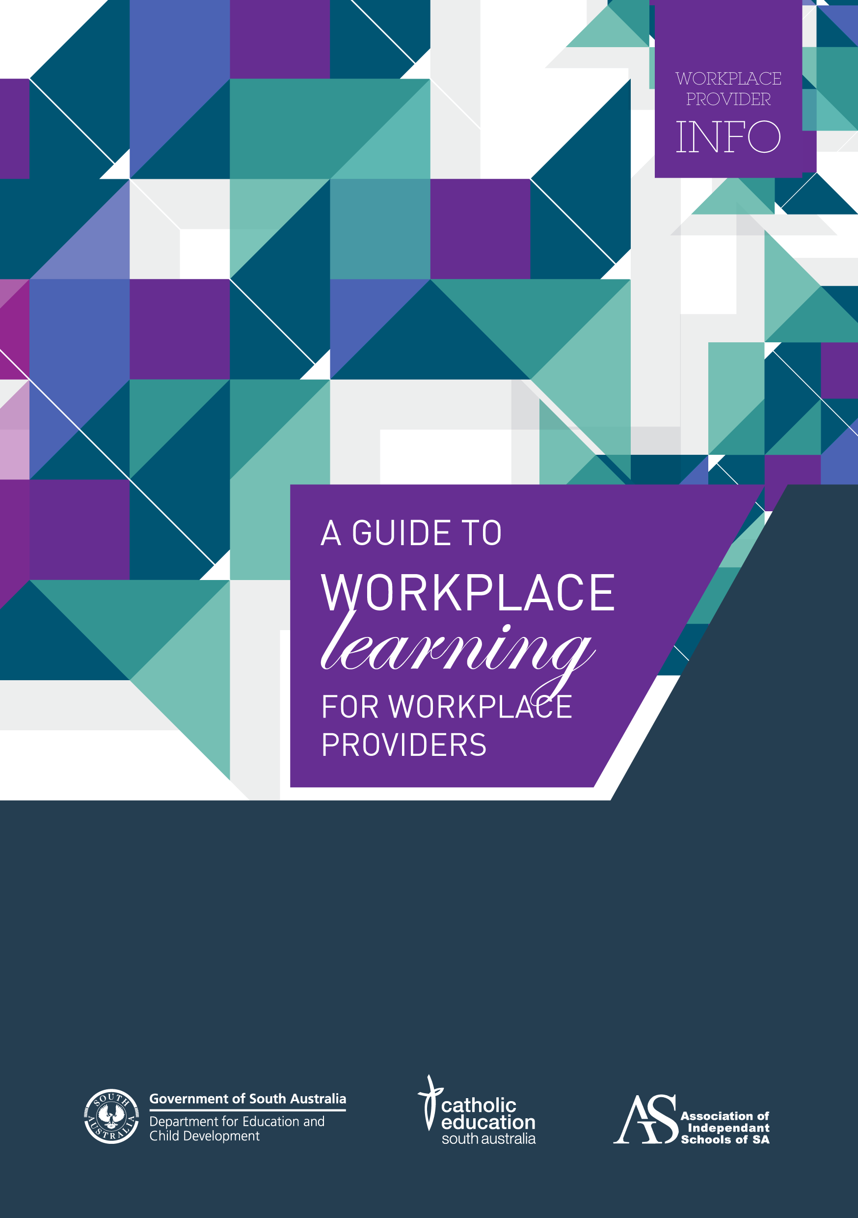 Guide to workplace learning for workplace providers and employers